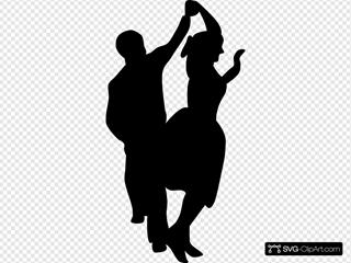 Dancing Couple Fifties