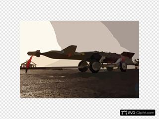 A 2,000-lb. Gbu-12 Guided Missile Rests On The Flight Deck Aboard Uss Kitty Hawk (cv 63).