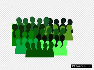 Very Green Crowd
