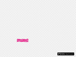 Braid Border Pink