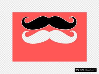 Double Moustaches