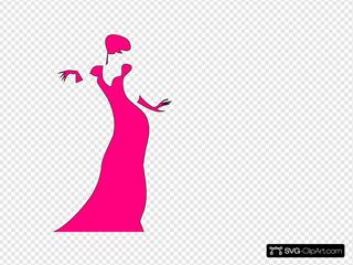 Pink Dancing Lady