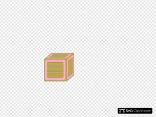 Block Plain Pink