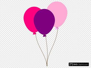 Girl Ballon