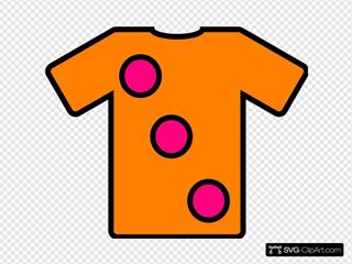Orange Pink Tshirt
