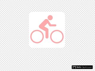 Pink Cyclist