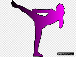 Pink Kickboxer