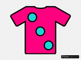 Turquoise Pink Tshirt