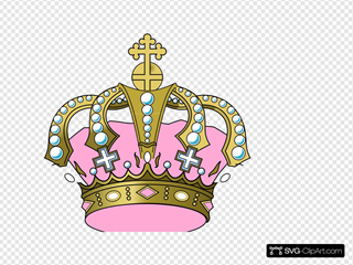 Pink Crown Clipart