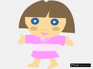 Japanese Character Girl