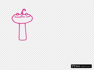 Hot Pink Sink