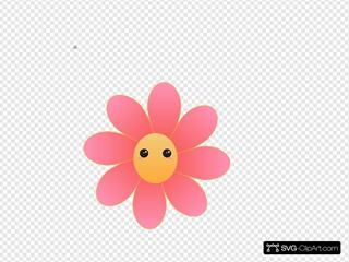 Cute Flower Face