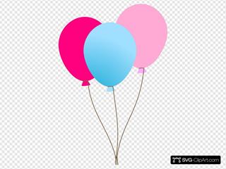 Girl Ballons