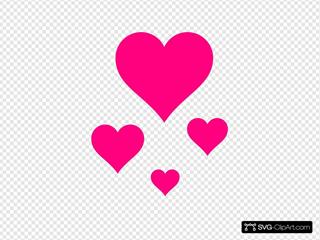 Pink Clip arts