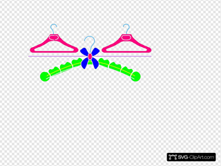 Multicolored Hangers