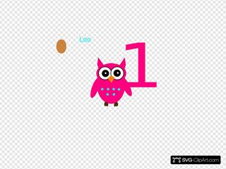 Owl 1st Bithday