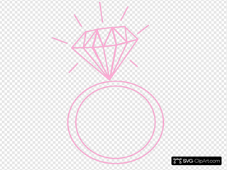 Diamond Ring-pink