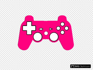 Play Station Controller Silhouette