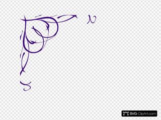 Purple SVG Clipart