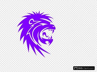 The Striking Lion