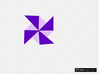 Purple Pinwheel 02