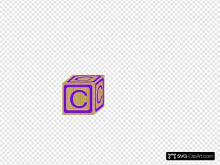 Children S Block Purple C
