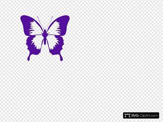 Cadbury Purple Butterfly
