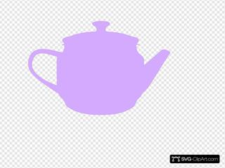 Tea Pot Purple