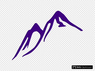 Mountain SVG Clipart