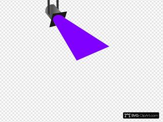 Spot Light Purple