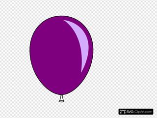 Purple Baloon