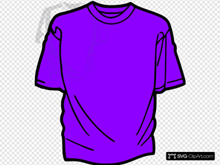 T-shirt-purple