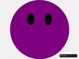 Dark Purple Happy