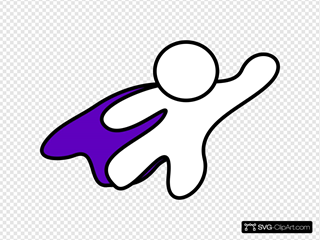 Superhero Purple Cape