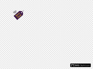 Sale Tag SVG Clipart