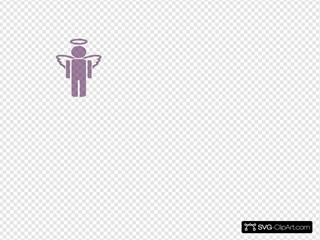 Purple Unknown Angel