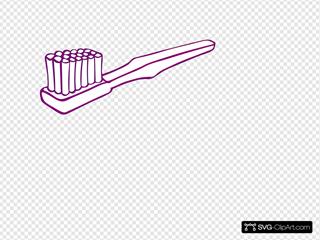Purple Toothbrush