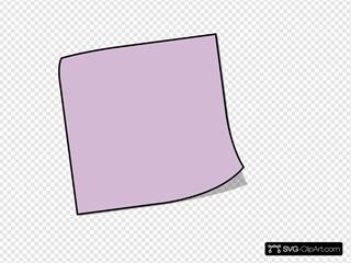Purple Stiky