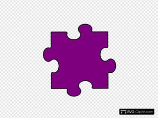 Light Purple Puzzle Piece