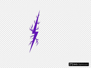 Deep Purple Lightning Bolt