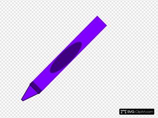 Totetude Purple Crayon