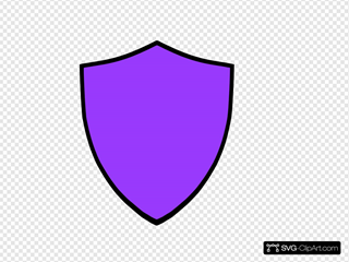 Shield-purple