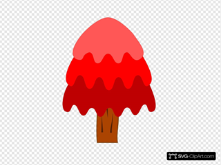 3 Layer Red Tree