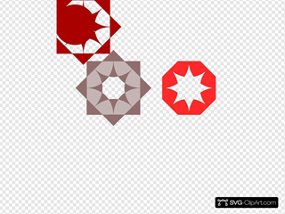 Shapes Pattern SVG Clipart
