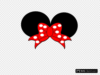 Minnie Mouse SVG Clipart