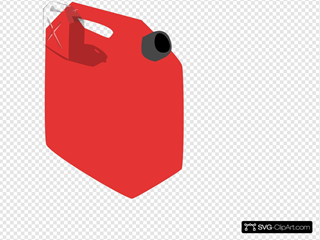 Gas Container SVG Clipart