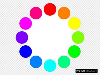 12 Color Circles