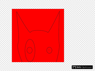 Red Bull Terrier Head