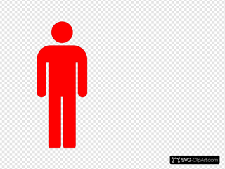 Red Person