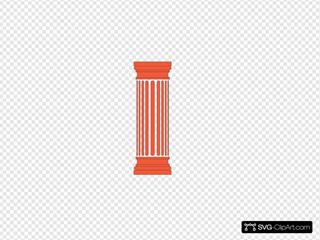 2 -red Column